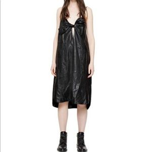 Zadig & Voltaire Women's Black Ray Leather Dress